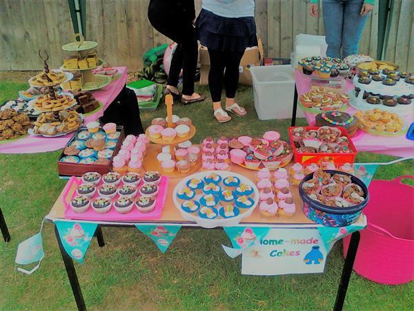 Summer Fair Cake Stall