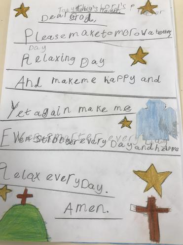 Toby's prayer