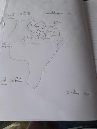 Jack's Map of Africa