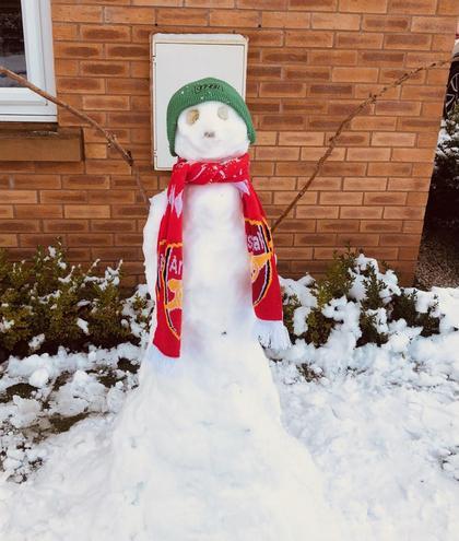 Mason's Snowman