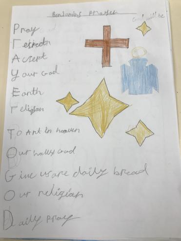 Ben's prayer