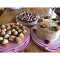 Delicious homemade cakes