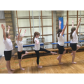 Working together in gymnastics