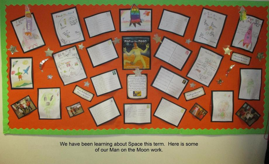 Our Man on the Moon Display