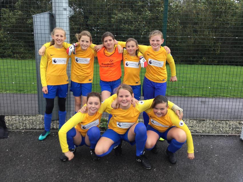 Football tournament - girls' team