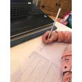 Super precursive letters by Jasmine