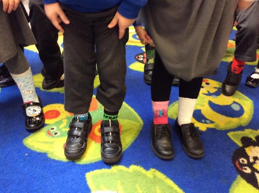 Anti-Bullying Week 2019 - Odd socks day!