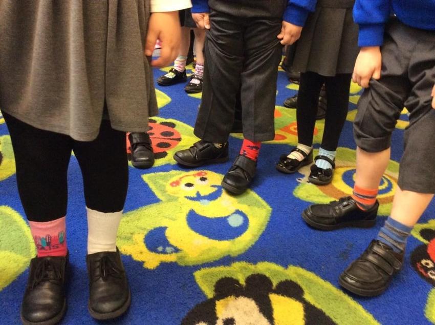 Odd socks!