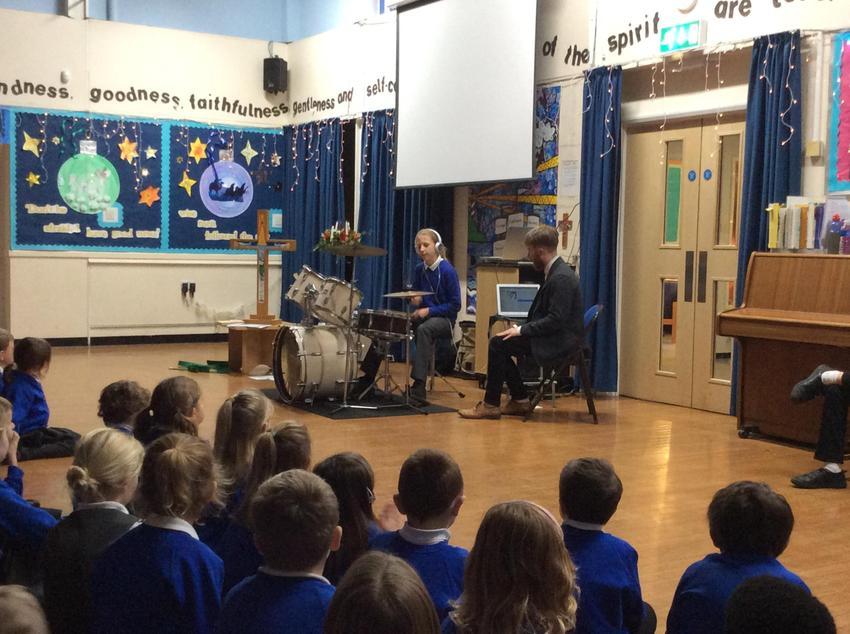 Drumming demonstration