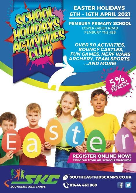 Easter Club at Pembury Primary School