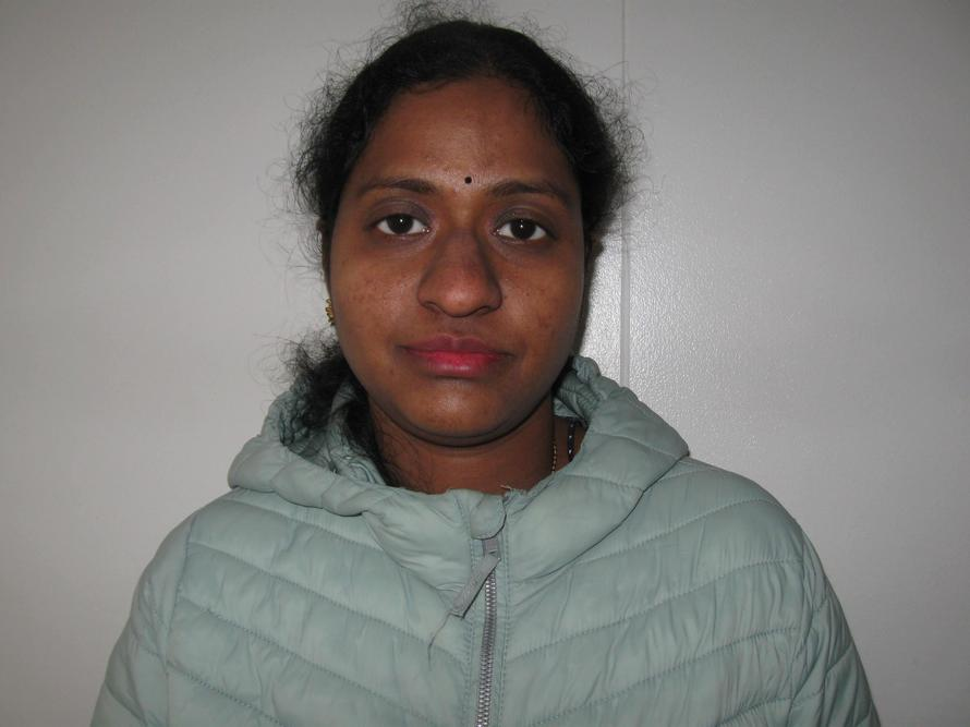 Rajani Indukuri - Midday Supervisor