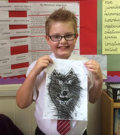 Bradley's wolf
