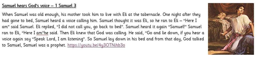 What can we learn about Trust from Samuel?