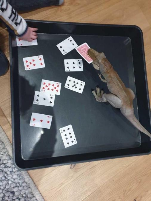 missing number dinosaur game