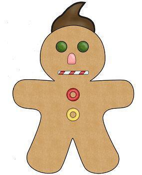 completed Gingerbread man