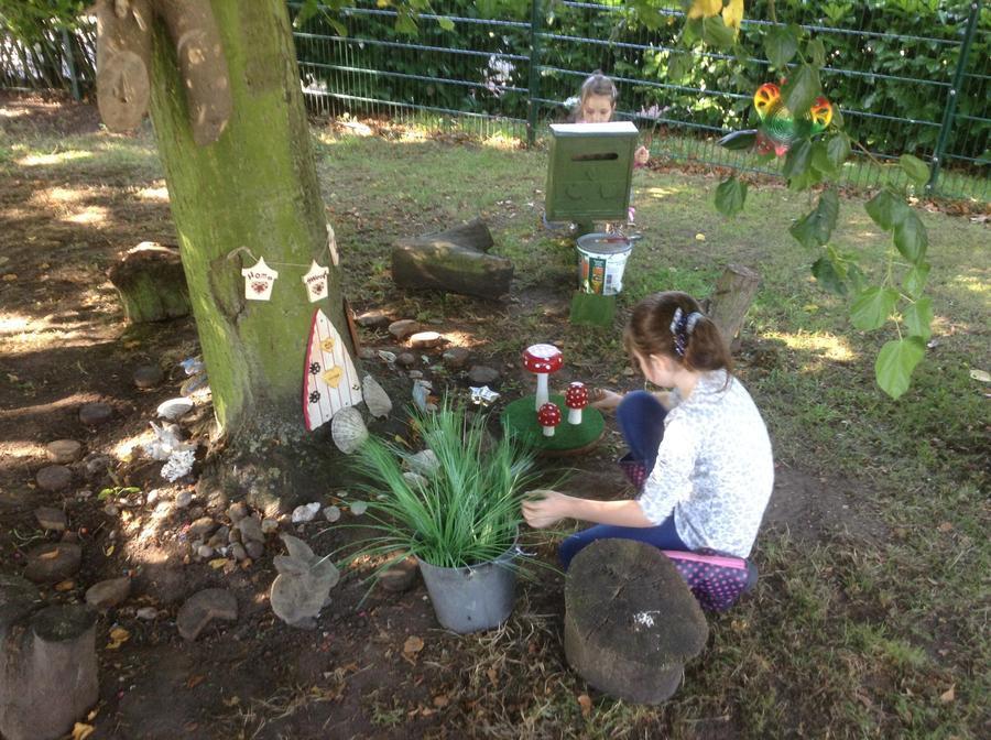 Planting the fairy box