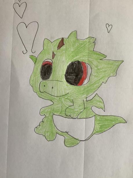 Leah's dragon - 5K