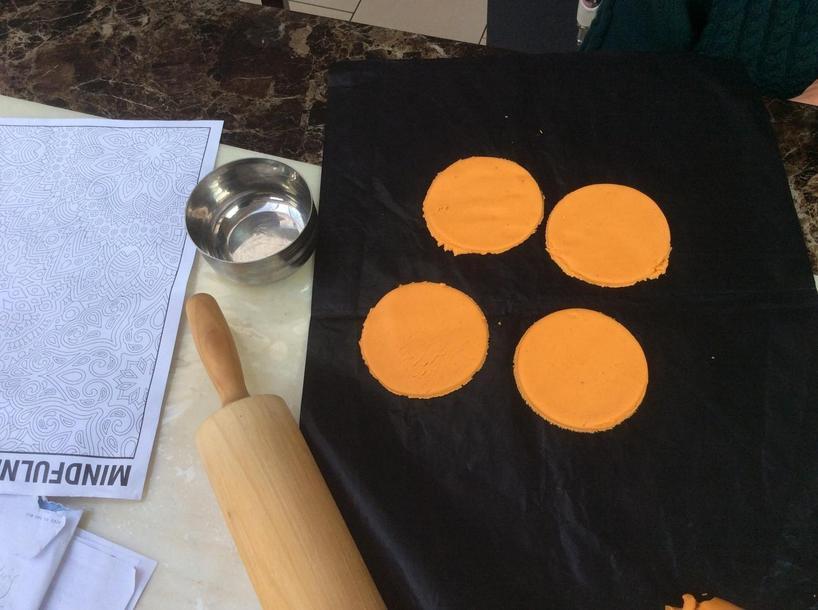 Manveer (5L) has been busy baking.