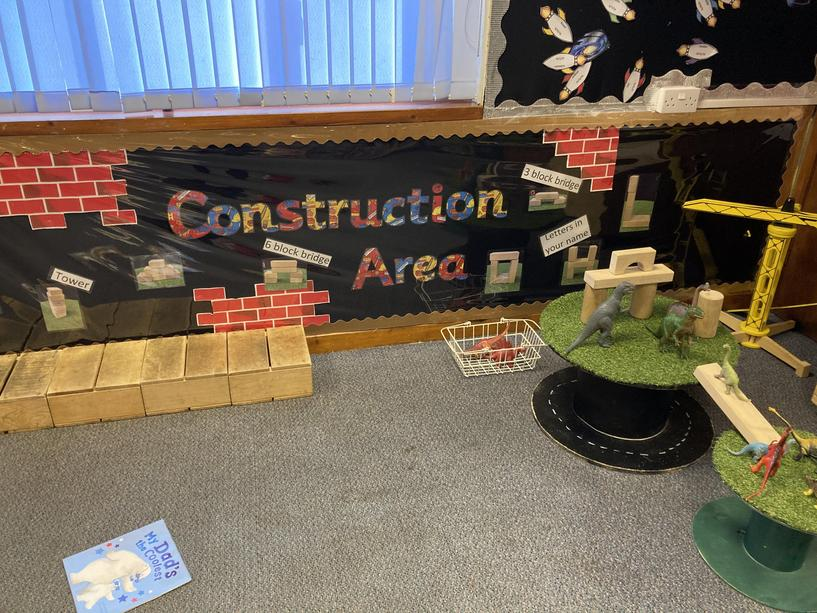 Architect/builder in the making? Come and build in our construction area.