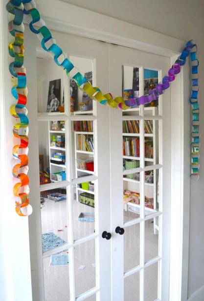 Make some paper chains