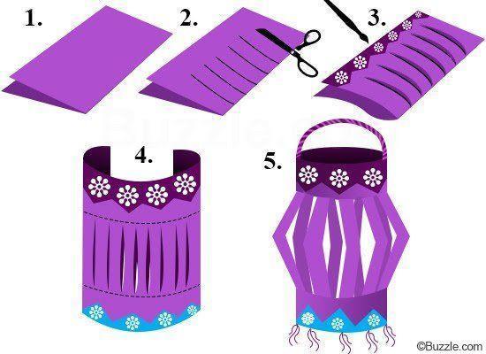 Make some paper lanterns