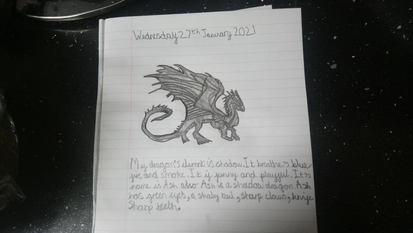 Aleena's dragon - 5K