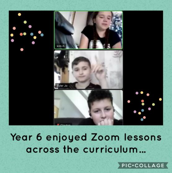 Home-learning via Zoom