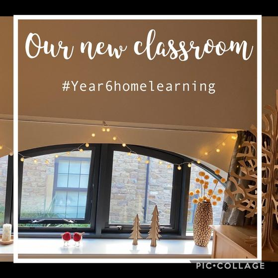 We put up our Christmas trees in our new learning spaces...