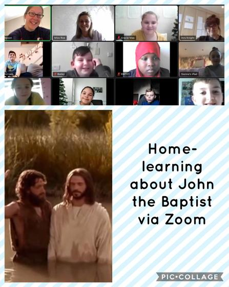 RE: John the Baptist baptises Jesus