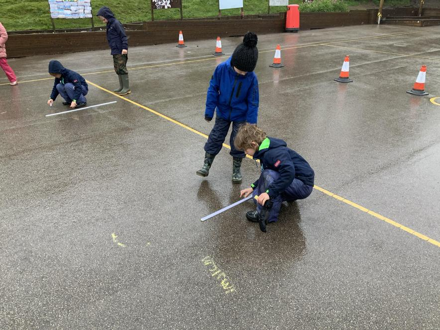 Measuring our jumps!