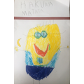 Isla had drawn a fantastic Minion