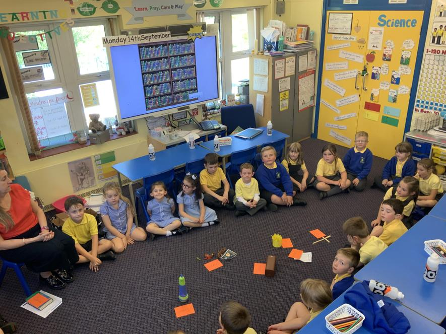 Chatterbox learning in RE.