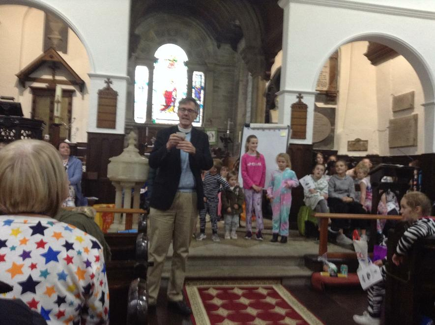Rev Mark told us about people who use food banks.