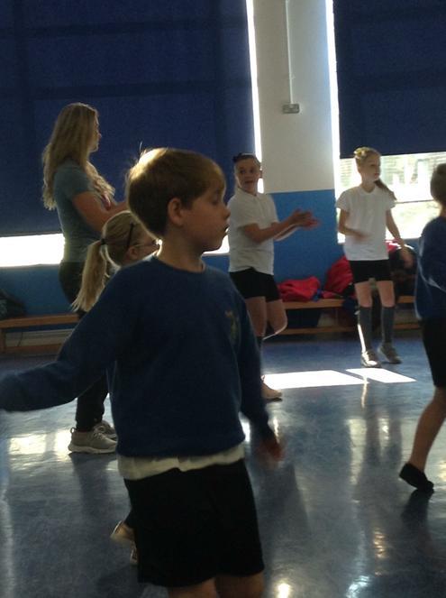 Group street dance.