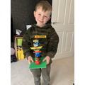 Jack has been creating with Lego