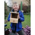 Finn's bird box