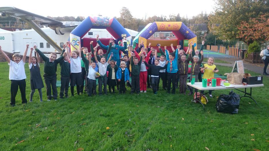 Elizabeth Fry Winners Party Celebrations!