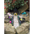Charlie and Alissa's Easter garden