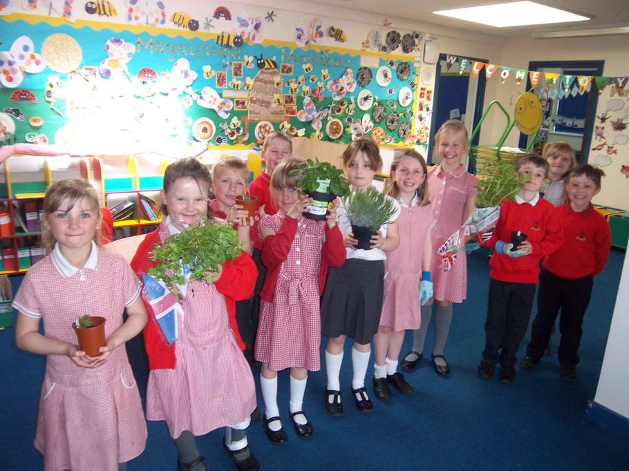 Thank you for our smelly plants!