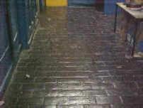 Original stone flooring
