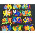 Roy Lichtenstein inspired Pop Art