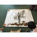 Art using natural materials