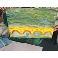 Painting in the Impressionist style