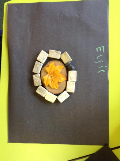 Exploring art ispired by the artist Andy Goldsworthy