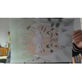 Henri Rousseau inspired jungle drawings