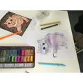 Kaleidoscope Cats inspired by artist Louis Wain