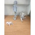 Tinfoil sculpture