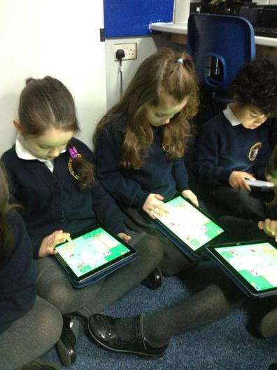 iPads - Used for research and learning apps.
