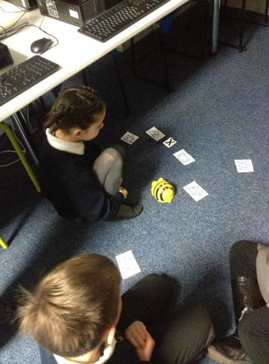 BeeBots - used to teach algorithmns in Year 1 and EYFS