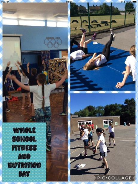 Whole school fitness and nutrition day